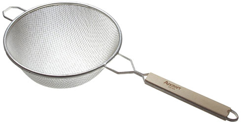 9 inch double mesh strainer
